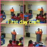 First Day Craft Class-I