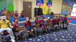 Play animal musical chair : Kindergarten