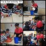 Tie and dye activity